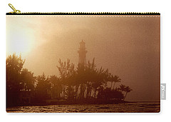 Lighthouse Point Sunrise Carry-all Pouch by Brent L Ander