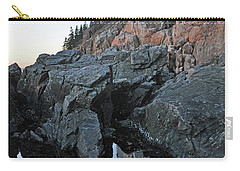 Carry-all Pouch featuring the photograph Lighthouse Reflection by Glenn Gordon