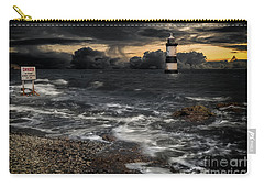 Lighthouse Storm Carry-all Pouch