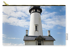 Carry-all Pouch featuring the photograph Lighthouse View by Mary Jo Allen