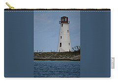 Carry-all Pouch featuring the photograph Lighthouse Watch by Melissa Lane