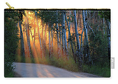 Carry-all Pouch featuring the photograph Lighting The Way by Shane Bechler