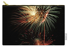 Carry-all Pouch featuring the photograph Lighting Up The Night by Broderick Delaney