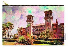 Lightner Museum St Augustine Florida Carry-all Pouch by Bob Pardue
