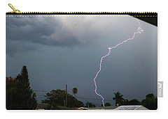 Lightning Bolt Illuminates The Sky Carry-all Pouch