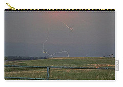 Lightning Bolt On A Scenic Route Carry-all Pouch