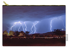 Lightning Over Laveen Carry-all Pouch