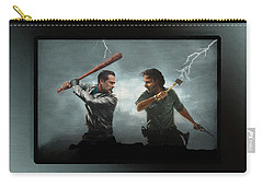 Lightning Striking Again - Painting Carry-all Pouch