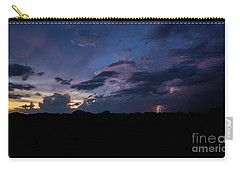 Lightning Sunset Carry-all Pouch