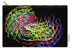 Lights Fantastic Carry-all Pouch by Diane E Berry