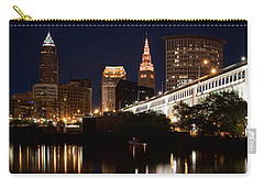 Lights In Cleveland Ohio Carry-all Pouch