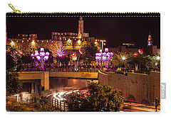 Lights In Jerusalem Carry-all Pouch