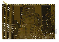 Lights Of 5th Ave. Carry-all Pouch