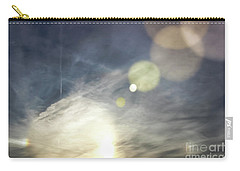 Carry-all Pouch featuring the photograph Lightshow by Colleen Kammerer