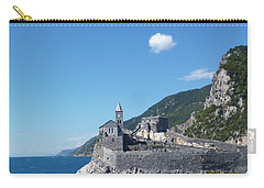 Liguria In Blue Carry-all Pouch