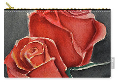 Like A Rose Carry-all Pouch