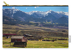 Like An Old Western Movie Carry-all Pouch by James BO Insogna
