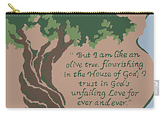 Like An Olive Tree Carry-all Pouch