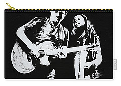 Like Johnny And June Carry-all Pouch by Alys Caviness-Gober