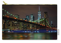 Carry-all Pouch featuring the photograph Like Ships In The Night by Chris Lord