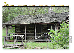 Lil Cabin Home On The Hill  Carry-all Pouch