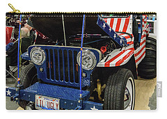 Carry-all Pouch featuring the photograph Lil Ugly by Randy Scherkenbach