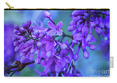 Lilac Blues Carry-all Pouch
