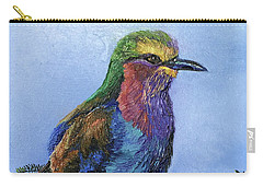 Lilac Breasted Roller Carry-all Pouch