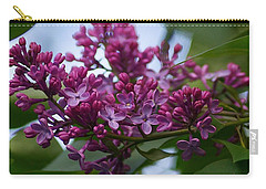 Lilac Buds Carry-all Pouch
