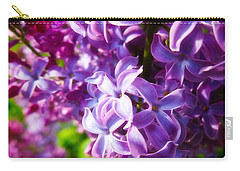 Lilac In The Sun Carry-all Pouch