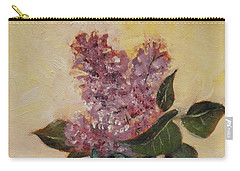 Lilac Reflections Carry-all Pouch