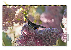 Carry-all Pouch featuring the photograph Lilac World by Michele Myers