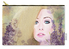 Lilacs And Lavender Carry-all Pouch