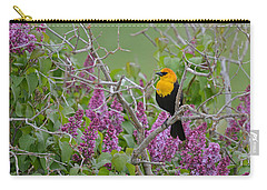Lilacs And Yellowhead Blackbirds Carry-all Pouch