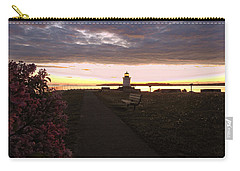 Lilacs At Portland Breakwater Light Carry-all Pouch