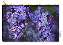 Lilacs Frenchy Scruff Carry-all Pouch
