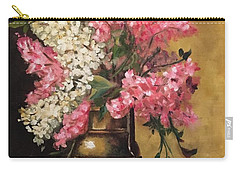 Lilacs Carry-all Pouch by Sharon Schultz