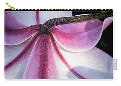 Carry-all Pouch featuring the photograph Lilies Backside by Jean Noren