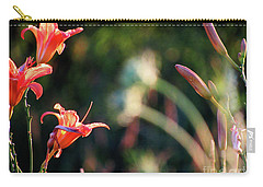 Lilies Bloom In The Forest Carry-all Pouch