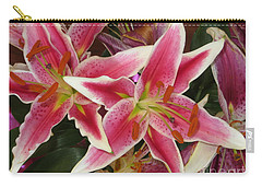 Lilies Carry-all Pouch by Tim Townsend