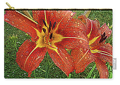 Lilium Asiatic Carry-all Pouch by Diane E Berry