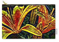 Lilly Fire Carry-all Pouch