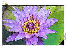 Lilly In Purple  Carry-all Pouch
