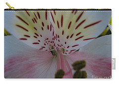 Carry-all Pouch featuring the photograph Lily by Greg Patzer