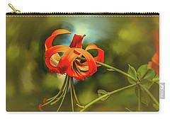 Carry-all Pouch featuring the photograph Lily #h8 by Leif Sohlman