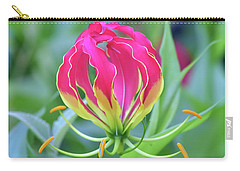 Lily In Flames Carry-all Pouch