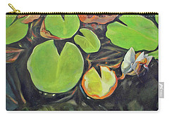 Lily In The Water Carry-all Pouch