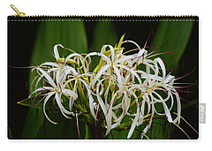 Lily Of The Nile Bloom Carry-all Pouch by Warren Thompson