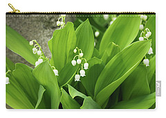 Carry-all Pouch featuring the photograph Lily Of The Valley by Cristina Stefan