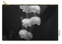 Lily Of The Valley Carry-all Pouch by Tim Good